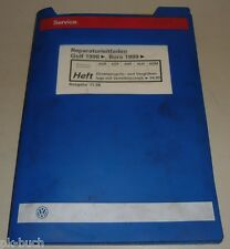 Werkstatthandbuch VW Golf IV, Direkteinspritz- und Vorglühanlage, Verteilerpumpe
