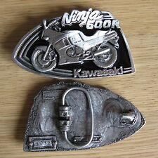 Kawasaki bike belt buckle (choice colors)