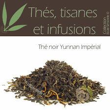 Thé noir Yunnan Impérial 50g - Pu-Erh minceur anti cholestérol infusion tisane