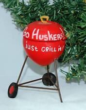 Nebraska Cornhuskers Football Christmas Ornament