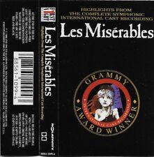 Alain Boublil & Claude Michel Schönberg~Highlights Les Misérables Cassette 1988