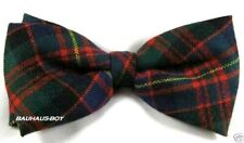 BOW TIE TARTAN CAMERON OF ERRACHT MODERN 100% PURE WOOL MADE IN SCOTLAND MENS