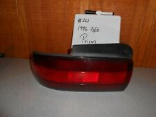 USED 1996 GEO Prism; Left Tail Light, #261