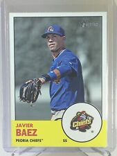 2012 Topps Heritage #223 Javier Baez Rookie RC Minor League Peoria Chiefs