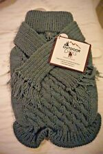 NWT OUTDOOR DOG SAGE SCARF SWEATER    SIZE SMALL