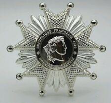 Plaque de Grand officier de la Légion d'honneur 1870  Reproduction haute qualité