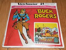 BUCK ROGERS 1978 GAF VIEWMASTER REELS RARE - MINT FACTORY SEALED