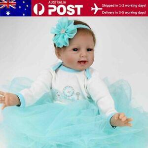 "22"" Reborn Baby Dolls Newborn Babies Doll Soft Vinyl Silicone Newborn Doll Gifts"