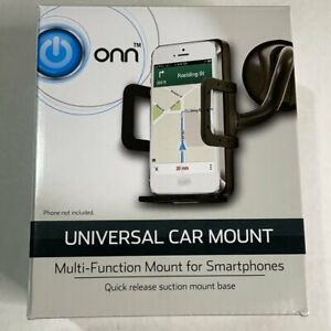 Universal Cell Phone Car Mount, Quick Release Suction Mount, Brand New