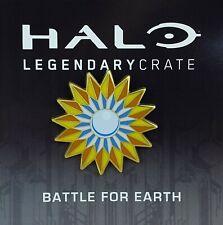 Officiel HALO Battle for Earth Enamel Pin Badge Butin exclusif