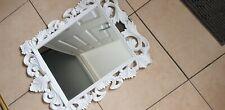 Vanity Mirror White Bathroom Living Room Wall Bedroom Beveled