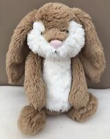 NEW Jellycat Medium Bashful Wriggle Bunny Rabbit Baby Soft Toy Comforter BNWOT