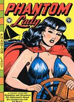 PHANTOM LADY deutsch # 1+2 Set (US #13+14) MATT BAKER limited GERMAN REPRINT bsv
