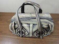SALVATORE FERRAGAMO  SATCHEL Bag Snakeskin Python Made in italy