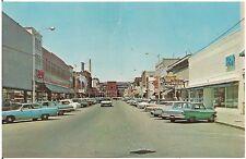 Scene on Main Street in Endicott NY Postcard