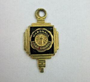 Vintage MarshallHigh School Honor Key Club Charm
