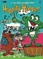 Vintage Reprint - 1960S - Hoppity Hooper Coloring Book Sampler - Reproduction