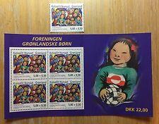 2004 Greenland Gronland SG MS450 children sheet mint