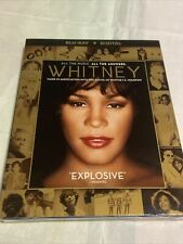 Whitney Blu-Ray + Digital w/ Slipcover Factory Sealed New Free S/h