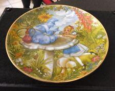 Hamilton Roberta Blitzer Alice In Wonderland Plate Advice From A Caterpillar