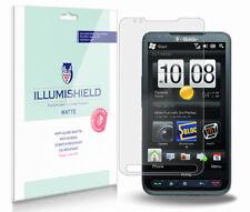 iLLumiShield Matte Screen Protector w Anti-Glare/Print 3x for HTC HD2 (T-Mobile)