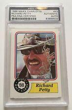 1988 MAXX Richard Petty Signed Auto Rookie RC Trading Card PSA/DNA Slabbed