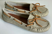 NEW! LUCKY BRAND ABELLE BROWN LOAFERS MOCCASINS SANDALS SHOES 7 37 $60 SALE