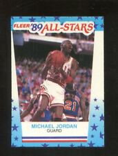 1988/89 FLEER BASK STICKER MICHAEL JORDAN #3  EXMT+  TP8812
