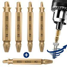 Tornillo Dañado Remover Extractor Extractor Set Brocas Kit de herramientas de mano casa de bricolaje