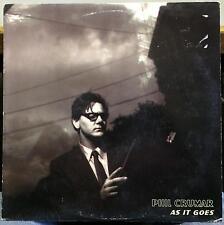"PHIL CRUMAR as it goes 12"" EP Mint- ASP 0125 USA 2000 Downtempo Hip Hop"