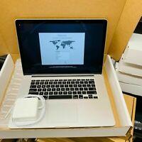 """Apple MacBook Pro 15"""" / Retina / i7 Intel / 8GB RAM / 256GB SSD / MC975LLA / OSX"""