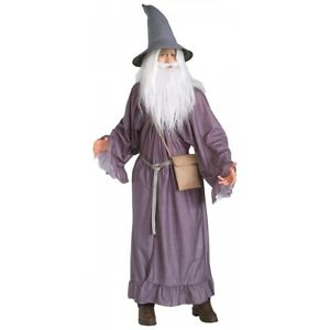 Gandalf Costume Adult Lord of The Rings Halloween Fancy Dress