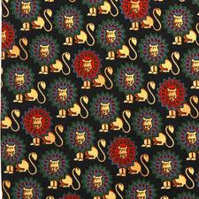 MARKS & SPENCER Whimsical Royal LIon Cat Men's Silk Neck Tie