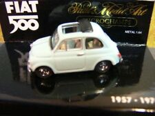 1/64 Minichamps Fiat 500 offen hellblau 1957-1976