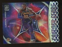 2019/20 Panini Optic LEBRON JAMES FANTASY SILVER PURPLE HOLO Prizm Refractor MVP