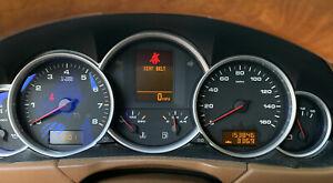 2008 2009 2010 PORSCHE CAYENNE S Speedometer Instrument Cluster 4.8L MPH OEM