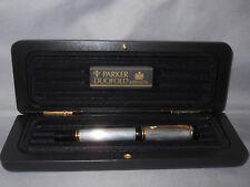 Parker Centennial Duofold  Sterling Silver Roller Ball Pen