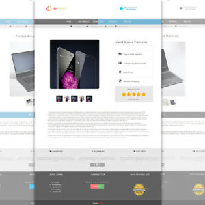 eBay Template 2021 Generator Listing Auction Responsive mobile HTML 1yr access