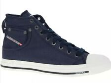 DIESEL EXPOSURE HI CANVAS TRAINERS SNEAKERS SIZE UK Size 9 New Ex Displayed