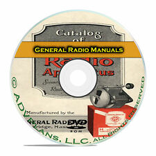 General Radio Service, Maintenance Operation Installation 341 Manuals CD DVD B64