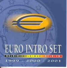 Belgie FDC set 1999-2001 / 1 cent - 2 euro : Intro Set