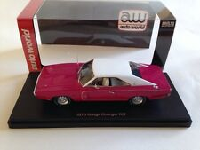 AUTO WORLD - DODGE Charger - 1970 AWR1140 New 1/43 Scale