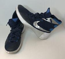 Nike Hyperdunk 2015 TB Men's Basketball Shoes Size 10 Blue Silver 749645-405