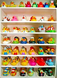 80+ Brand New PVC Mini Character Ducks Comical Fun Toy Gift Collectable Bathtime