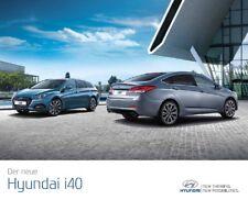 Hyundai i40 11 / 2016 brochure catalogue allemand German Austria