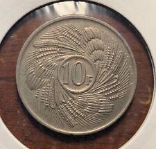 1971 Burundi 10 francs - nice details