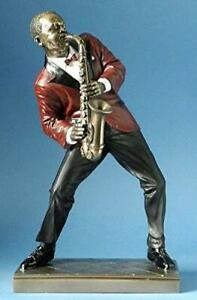 Jazz Musician Figurine - Saxophone Player Alto