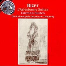 BIZET: L'ARLESIENNE SUITES 1 & 2/CARMEN SUITES 1 & 2 USED - VERY GOOD CD