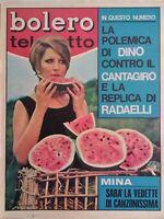 Bolero 1105 Mina Dino Del Turco Antoine Dalida Tony Berti Milo Donaggio Identici