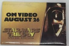"1997 Star Wars Trilogy Special Edition ""Darth Vader"" Promotional Pin"